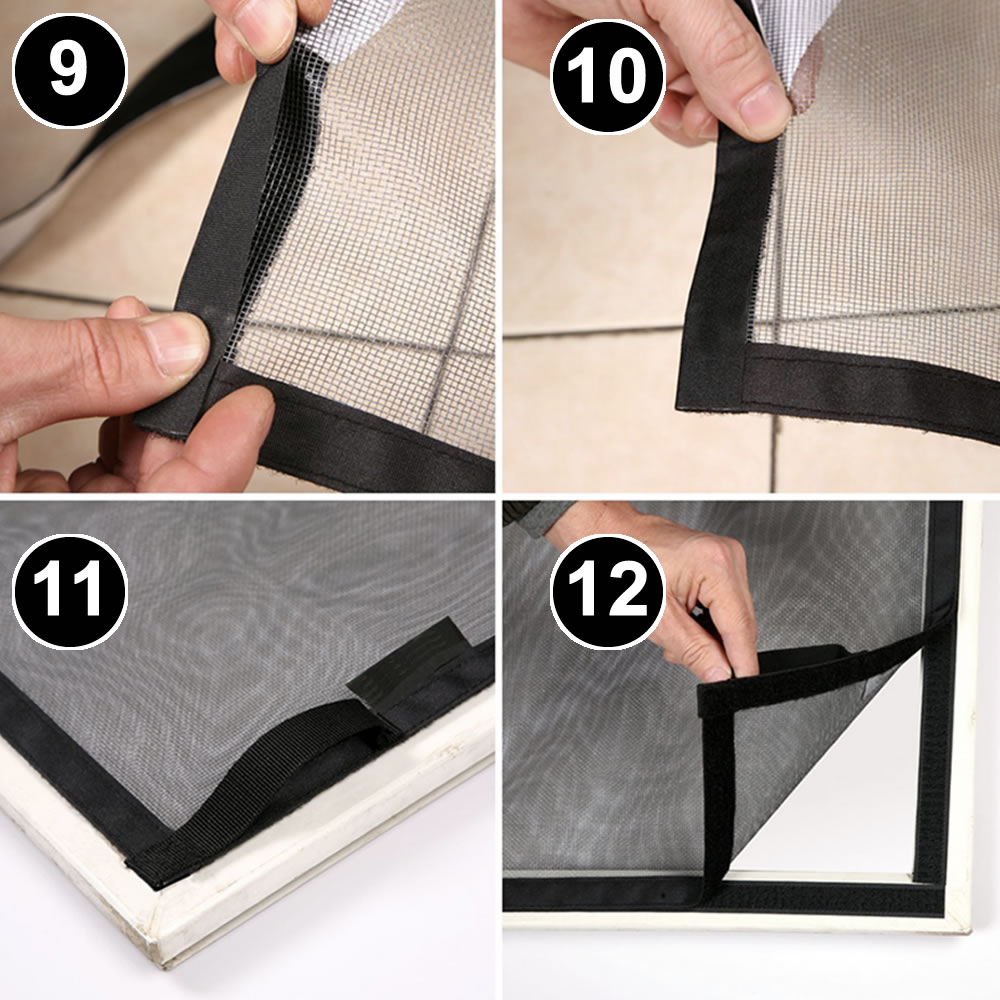 buy DIY velcro window screens online