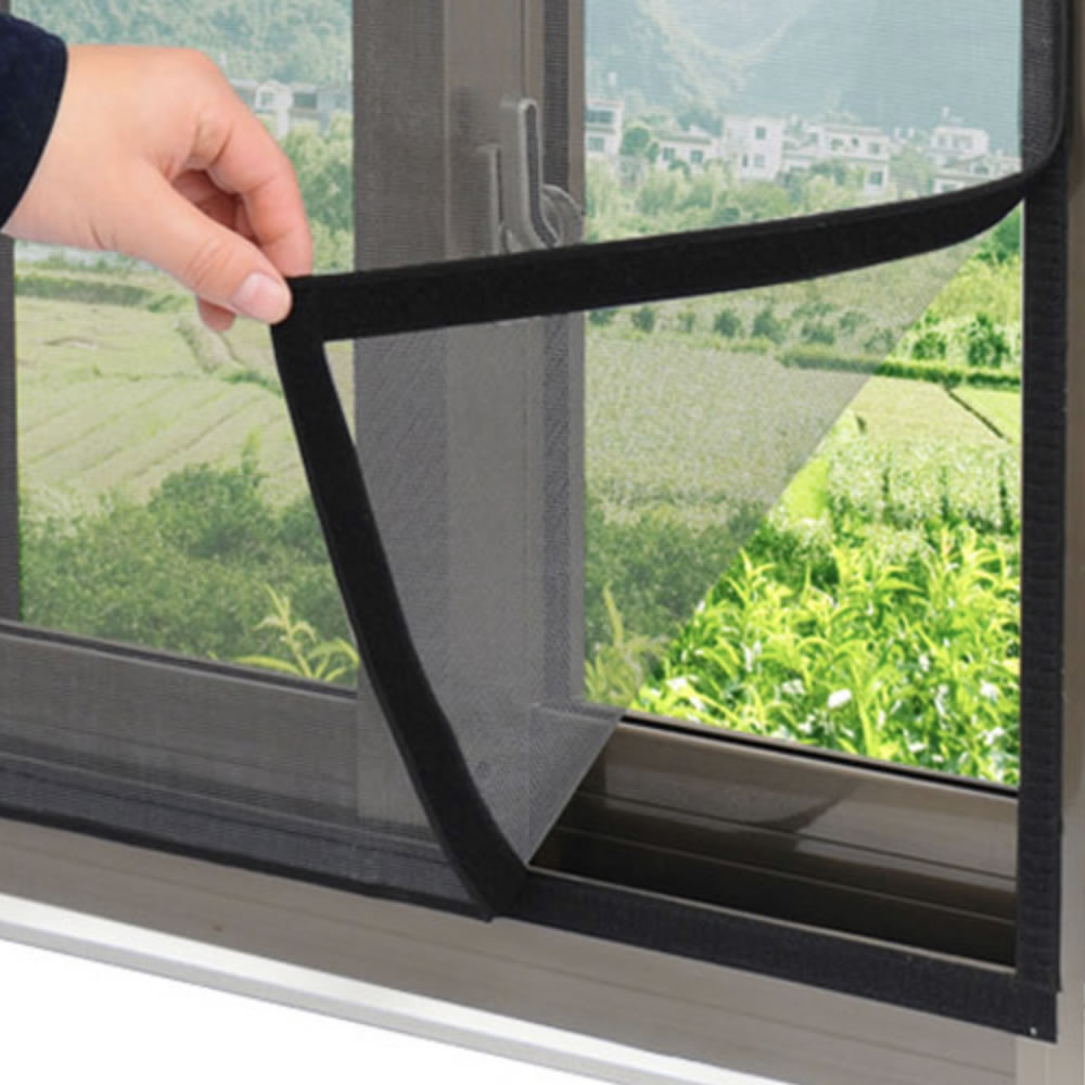 velcro fly screen window