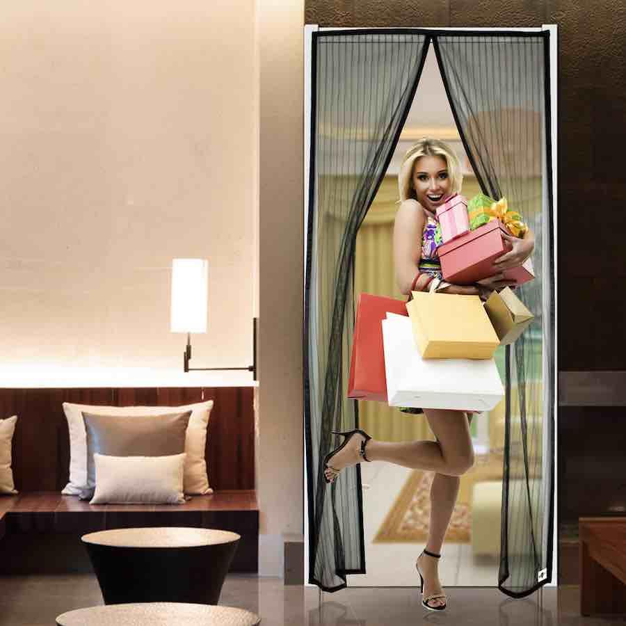 magnetic door screen supplier