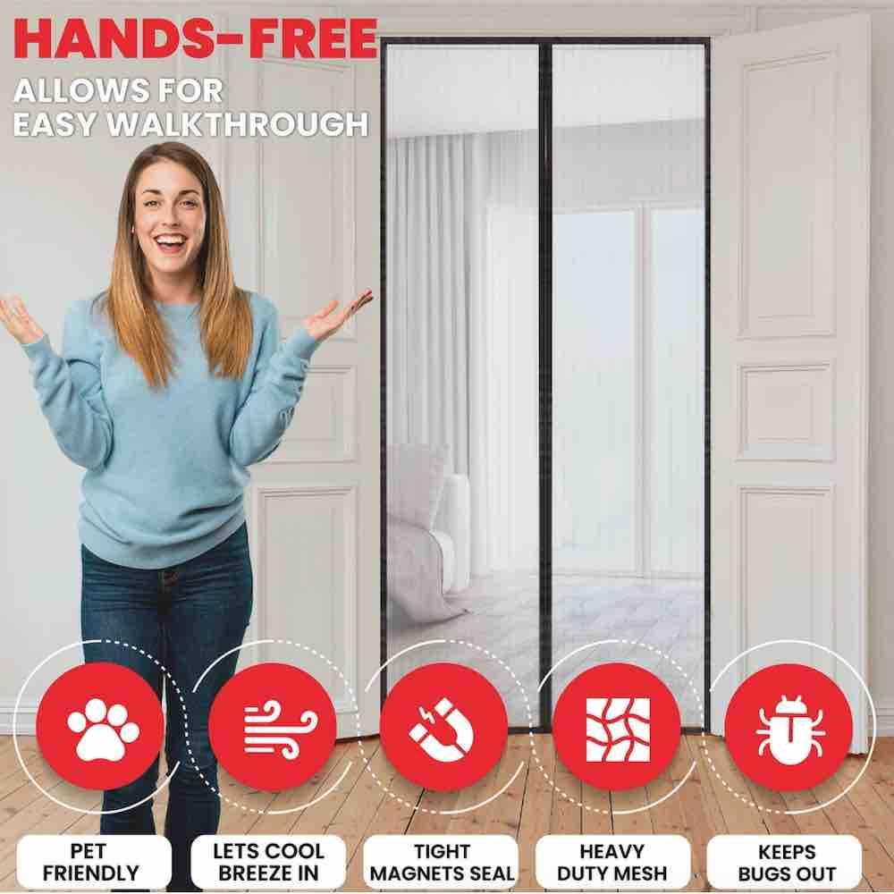 where to buy magnetic door screen online
